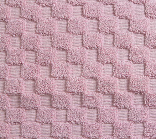 luxurious linenhall 850gsm 100 cotton reversible bath mat in dusky